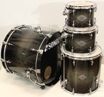 Sonor Select Force Maple Rock Transparent Black Burst kép, fotó