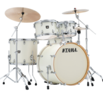 Tama Superstar Classic Maple 20-10-12-14 shell-set CL50RS-SAP Satin Arctic Pearl kép, fotó