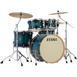 Tama Superstar Classic Maple 22-10-12-16 shell-set CL52KRS-BAB Blue Lacquer Burst kép, fotó