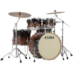 Tama Superstar Classic Maple 22-10-12-16 shell-set CL52KRS-CFF Coffee Fade kép, fotó