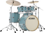 Tama Superstar Classic Maple 22-10-12-16 shell-set CL52KRS-LEG Light Emerald Blue Green kép, fotó