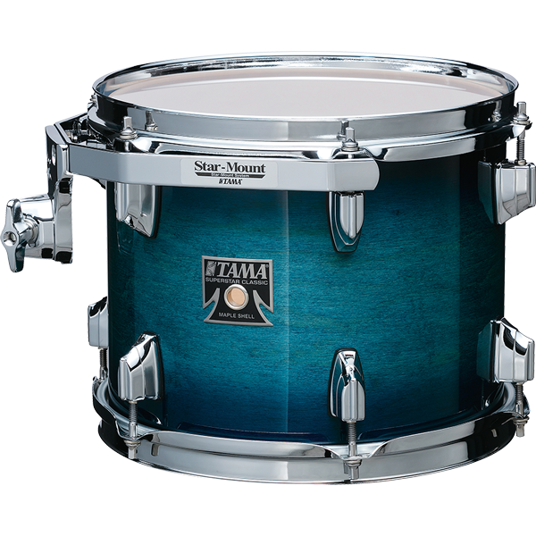 Tama Superstar Classic Maple 20-10-12-14 shell-set CL50RS-BAB Blue Lacquer Burst Tama Shell-set
