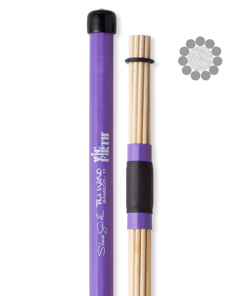 Vic Firth Steve Smith Tala Wand Babmoo unplugged verő Egyéb