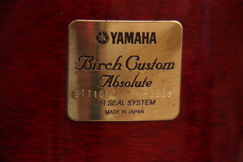 Yamaha Birch Custom JAPAN 20-10-12-14 Használt Shell-set